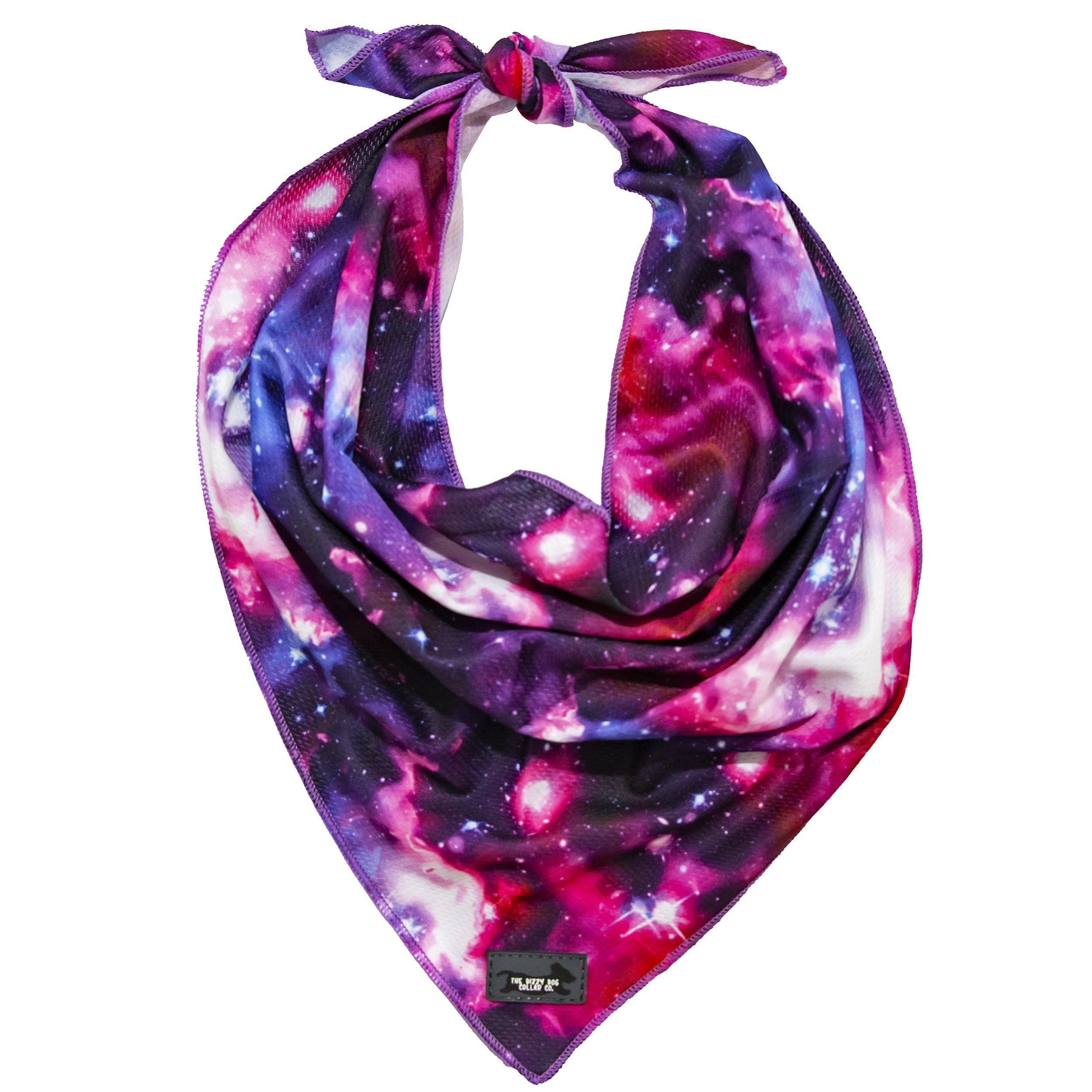 dog bandana australia, tie up dog bandana, galaxy dog bandana