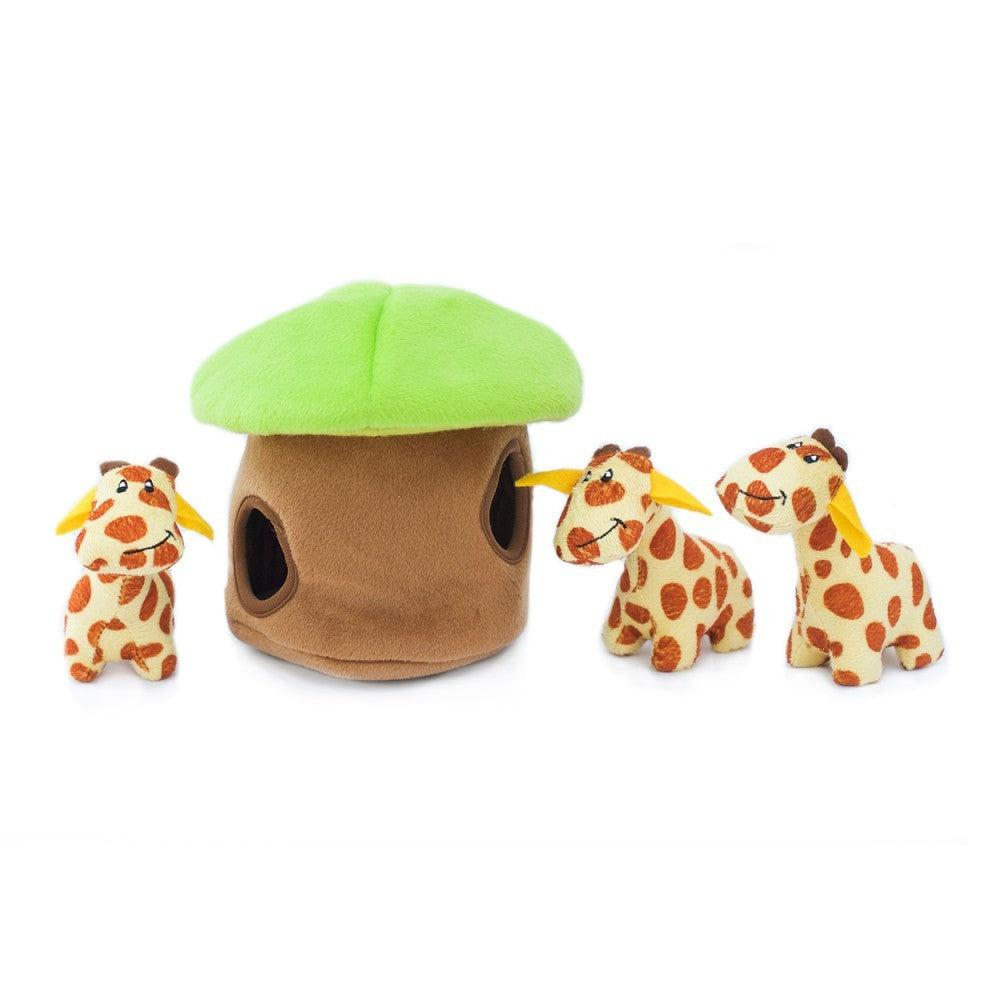 Giraffe - Interactive Dog Toy-Dizzy Dog Collars-Dizzy Dog Collars