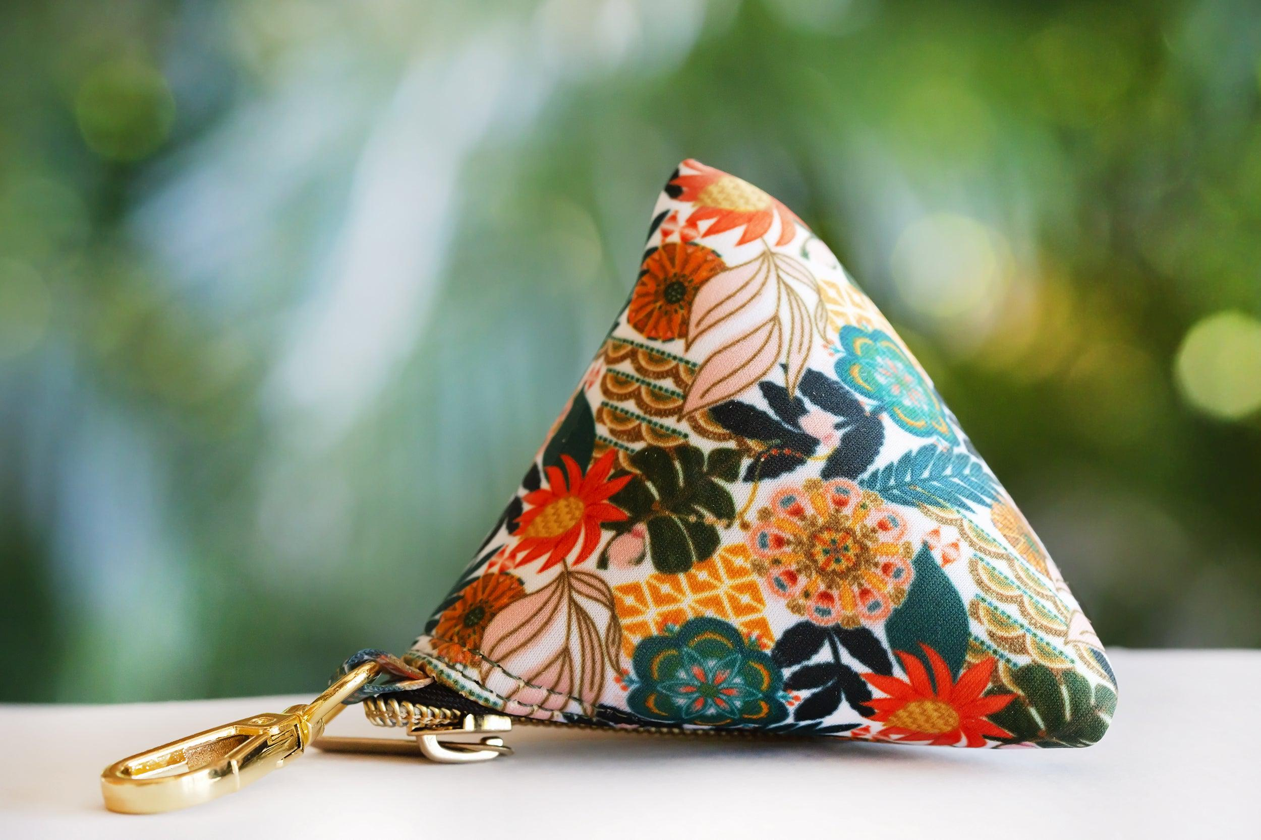 Bohemian Garden Pocket- For Poop Bags, Treat and/or Keys/Coins-Dizzy Dog Collars