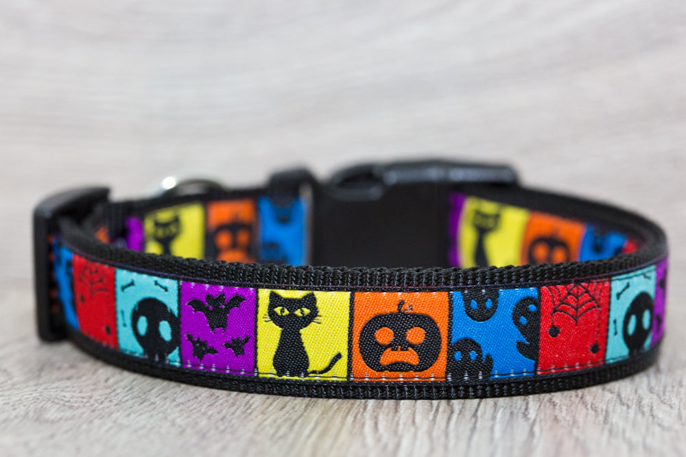Halloween Dog Collar  / S-XL