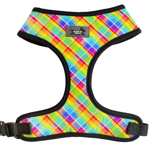 Candy Plaid- Standard Dog Harness -SEE DESCRIPTION
