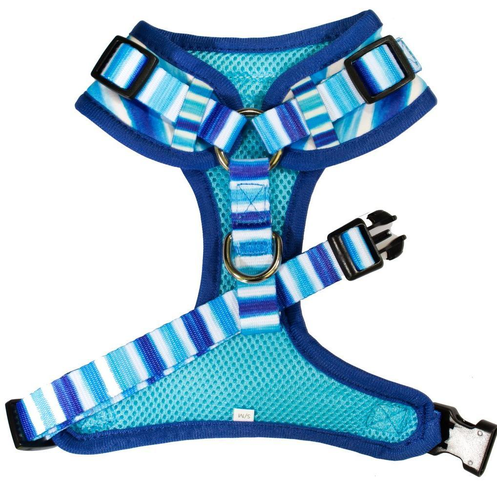 dog harness with adjustable neck