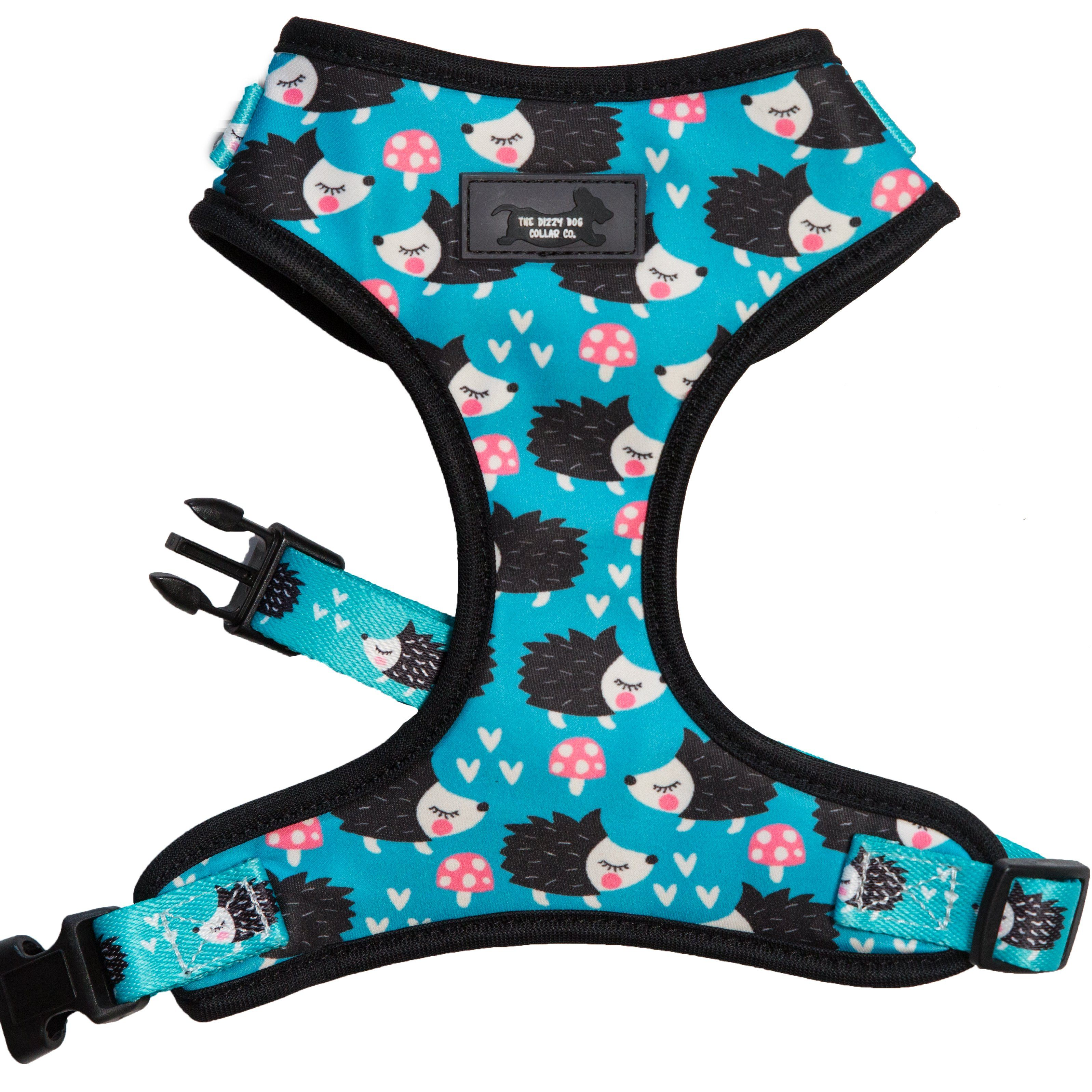 dog harness, cute do harness made in Australia, adjustable dog harness, reversible dog harness