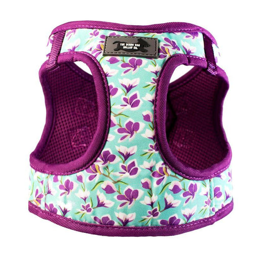 DOG HARNESS - Frangipani - Step In  Dog Harness (Premade)