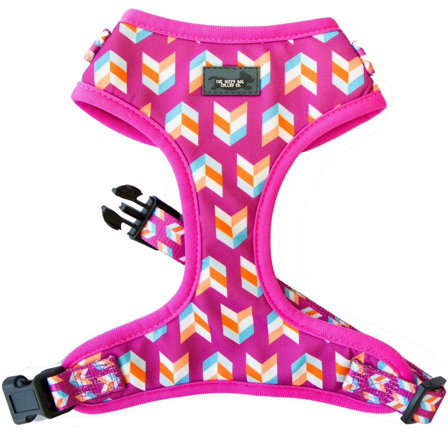 dog harness, pink dog harness, frenchie bulldog harness, frenchie, sausage dog