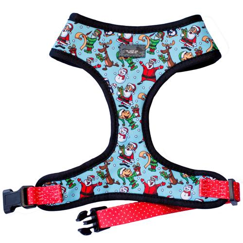 Saint Nick (Christmas Dog Harness) - Standard Dog Harness