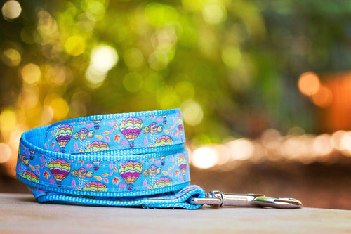 Hot Air Balloons Dog Leash