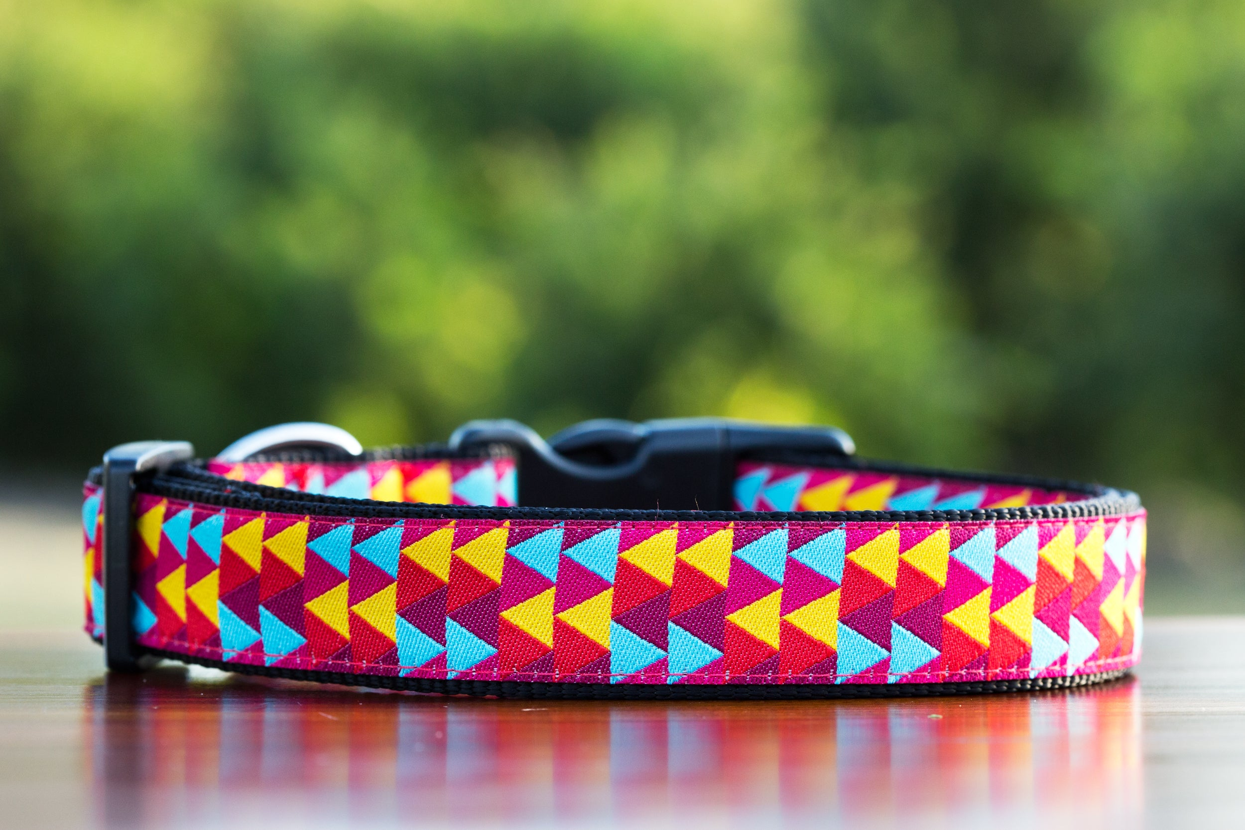 Jazzy Geo Dog Collar / XS-XL
