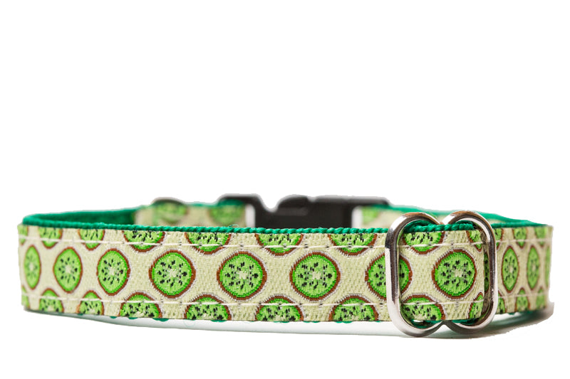 Kiwi Fruit Cat Collar / Toy Breed Dog Collar