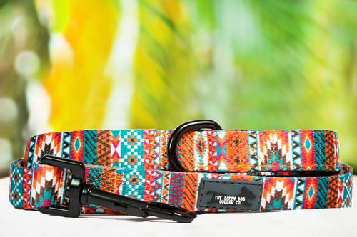 Dog Leash - Rustic Aztec (Premade)