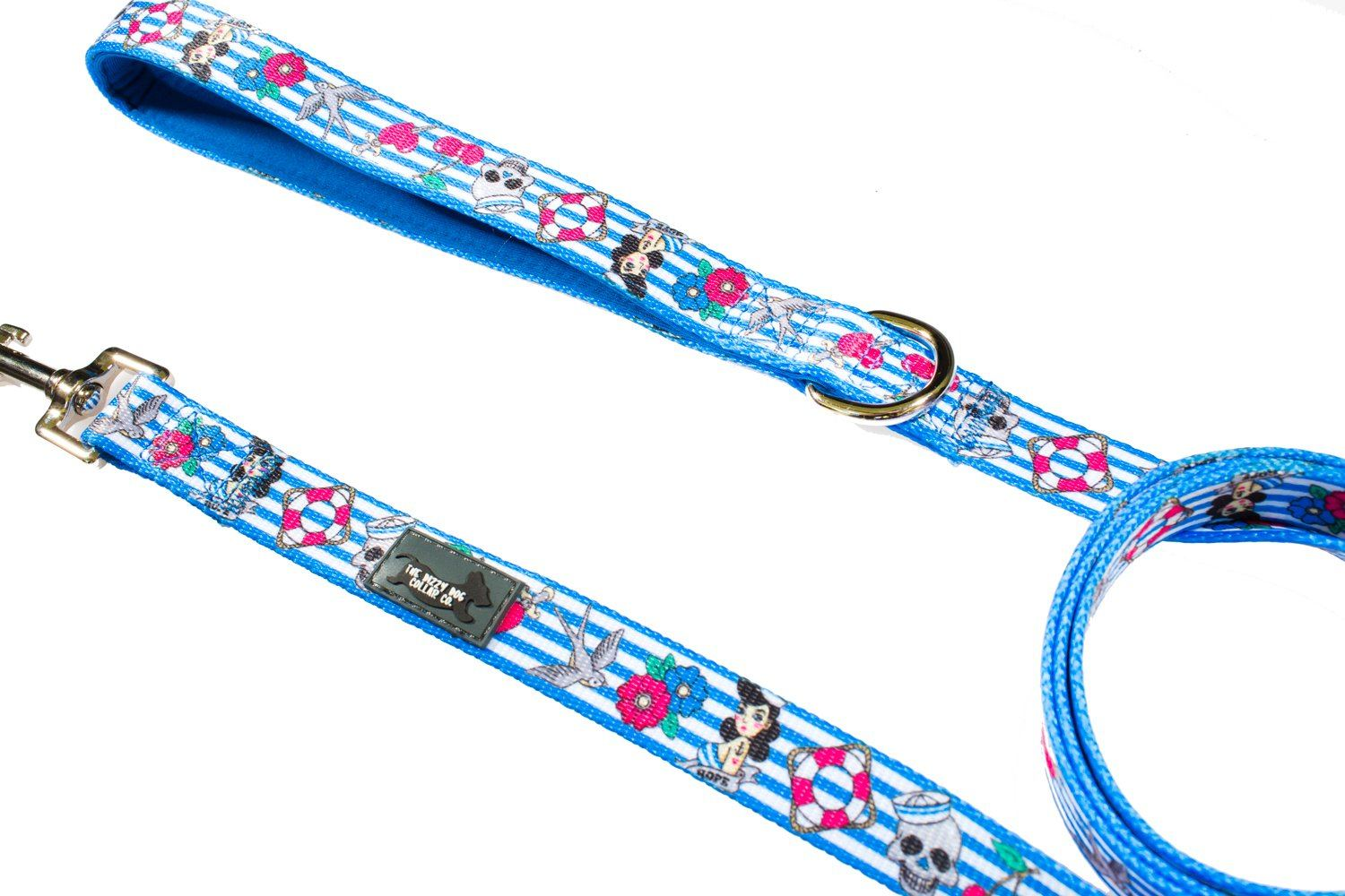Rockabilly - Dog Leash-Dizzy Dog Collars-Dizzy Dog Collars