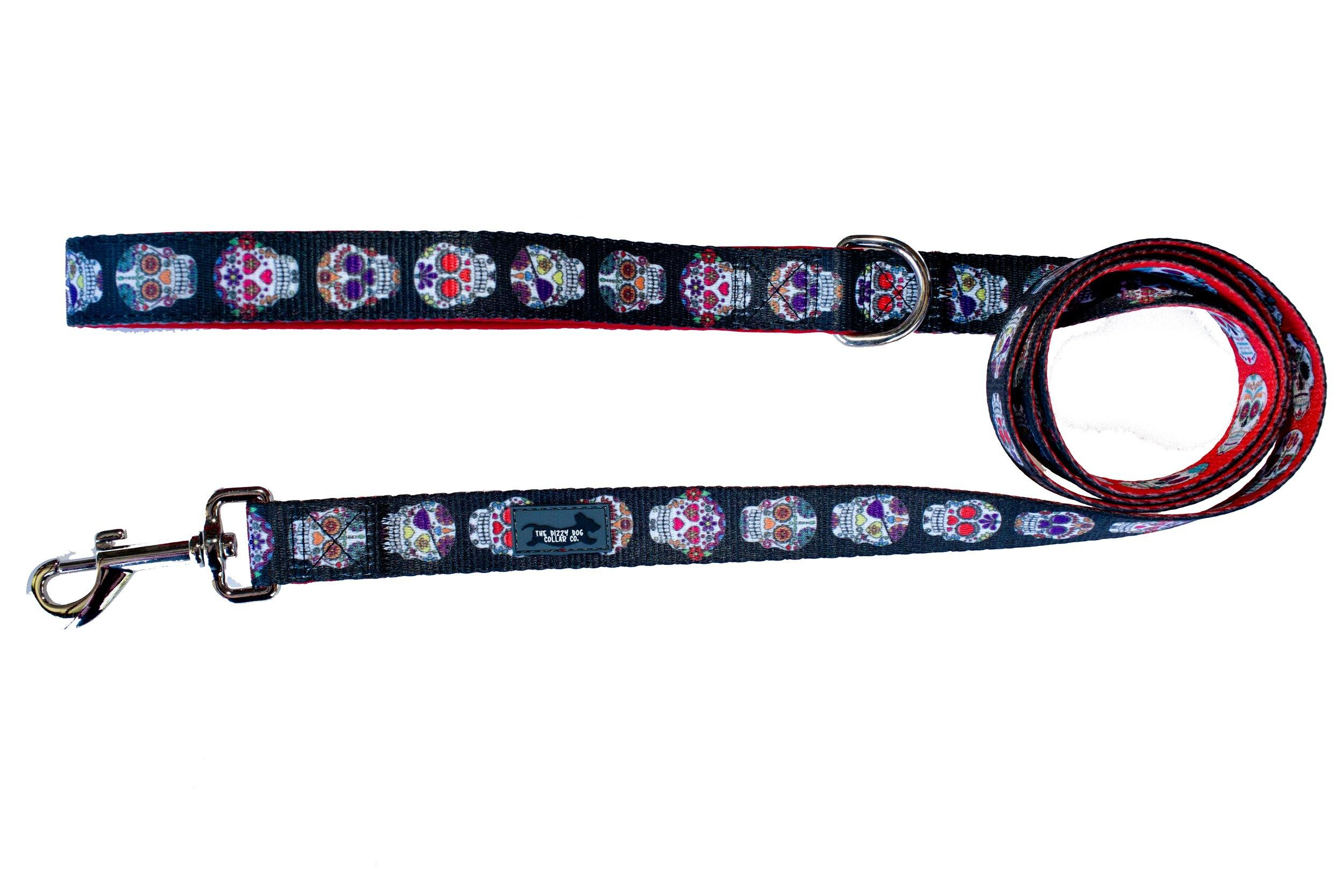 Skulls - Dog Leash-Dizzy Dog Collars-Dizzy Dog Collars