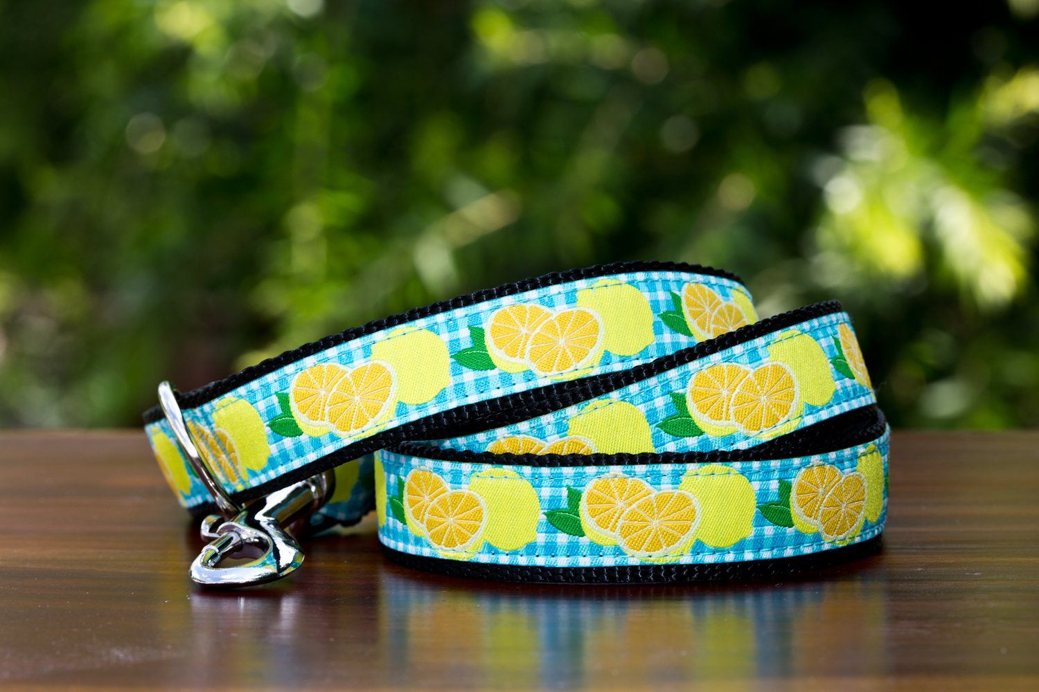 Lemon Dog Leash-Dizzy Dog Collars-Dizzy Dog Collars