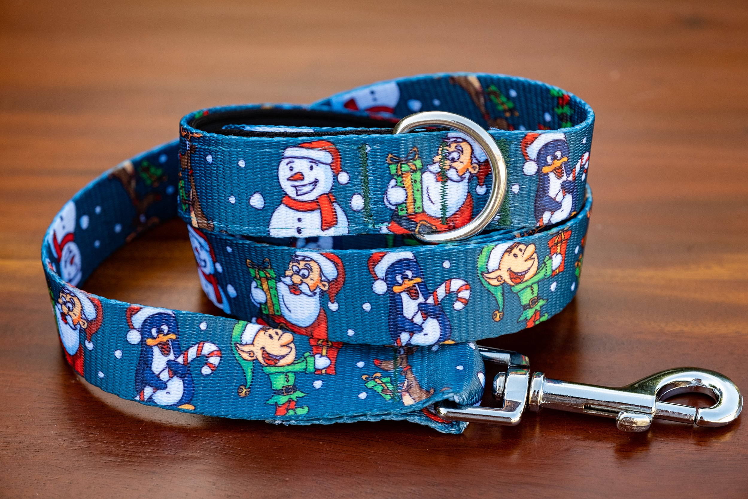 Let it Snow Dog Leash-Dizzy Dog Collars