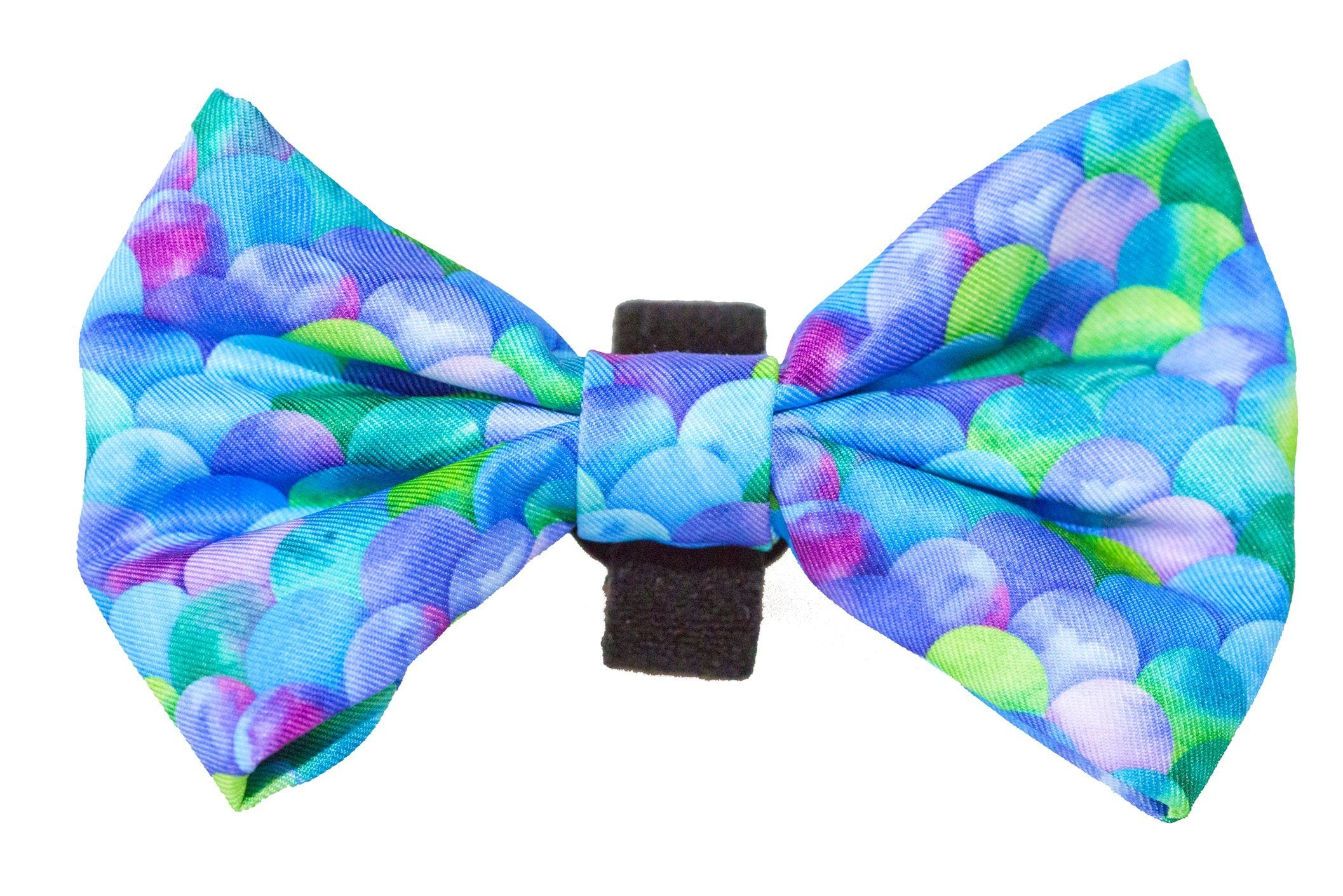 Mermaid Scales Bow Tie - Small & Large-Dizzy Dog Collars-Dizzy Dog Collars