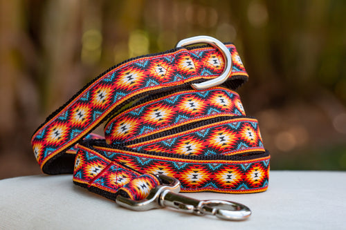 Navajo Dog Leash (Handmade to order)