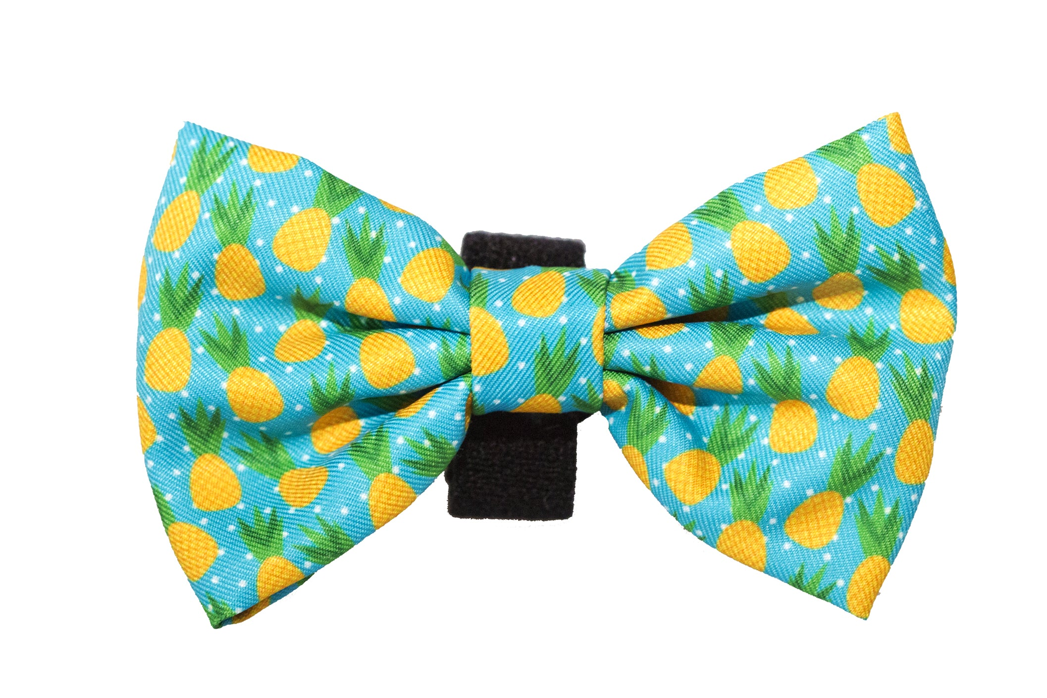 Pineapple Bow Tie - Small & Large-Dizzy Dog Collars-Dizzy Dog Collars