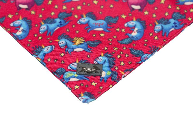 Pink Unicorn Bandana-Dizzy Dog Collars-Dizzy Dog Collars