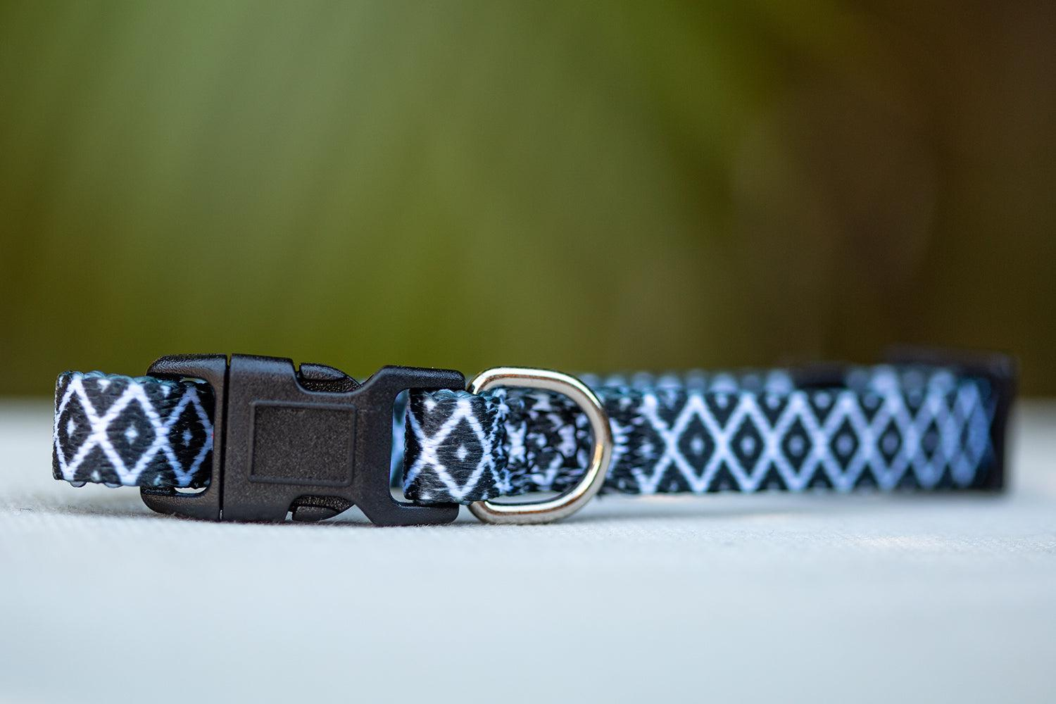 Coopers Classic Cat Collar / Toy Breed Dog Collar / Puppy Collar-cat collar-Dizzy Dog Collars