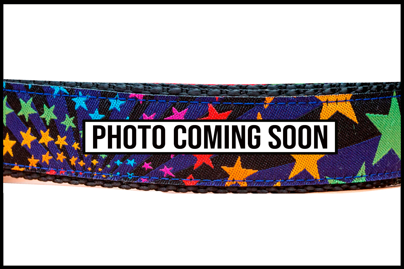 Rainbow Stars Dog Leash-Dizzy Dog Collars