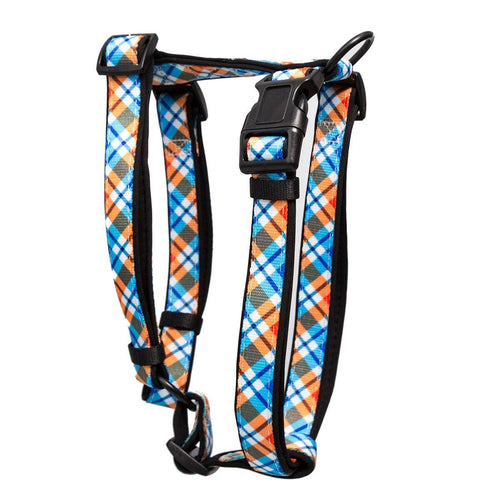 Roma Plaid H-Harness (Neoprene Padding) (Premade)