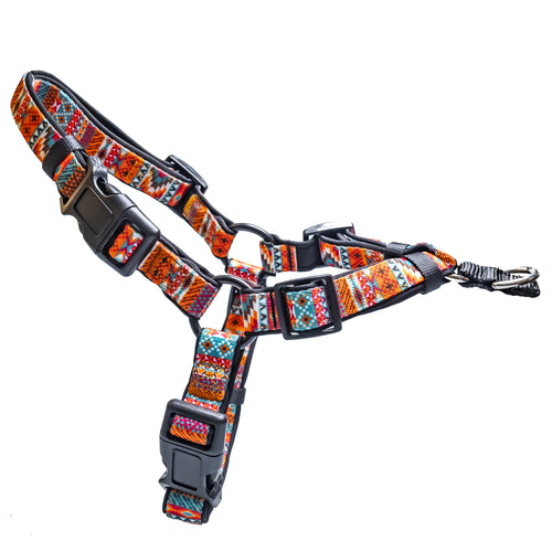DOG HARNESS  - Front Clip Dog Harness - Rustic Aztec NEW HARNESS COMING RESTOCKING MID-LATE SEPT
