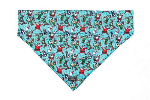 Saint Nick - Slip on Dog Bandana