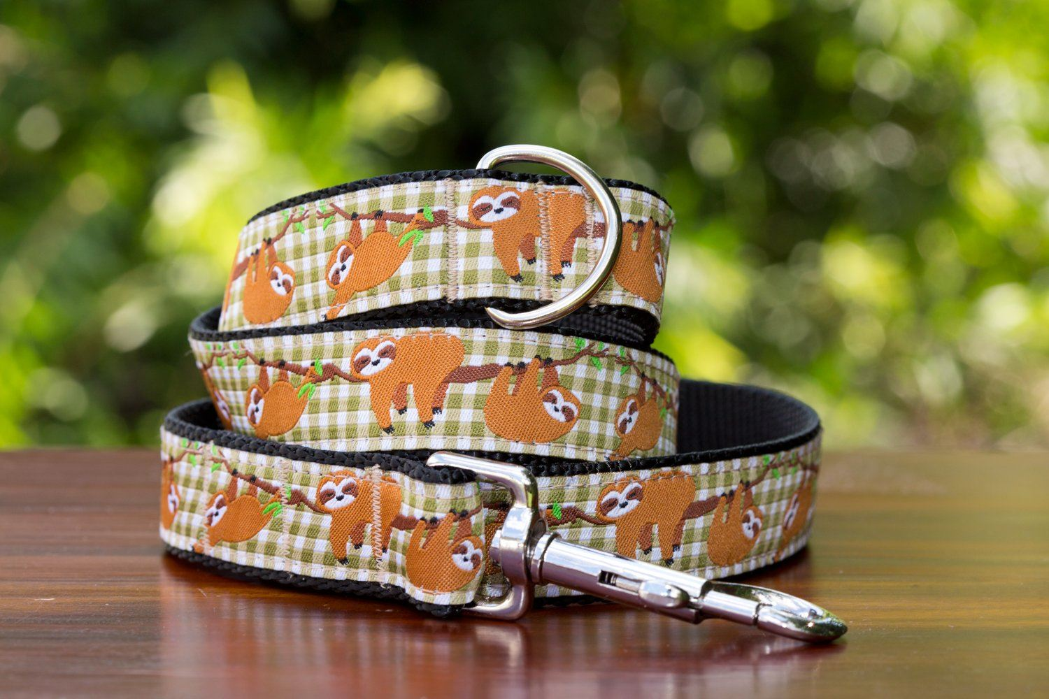 Sloth Dog Lead-Dizzy Dog Collars-Dizzy Dog Collars