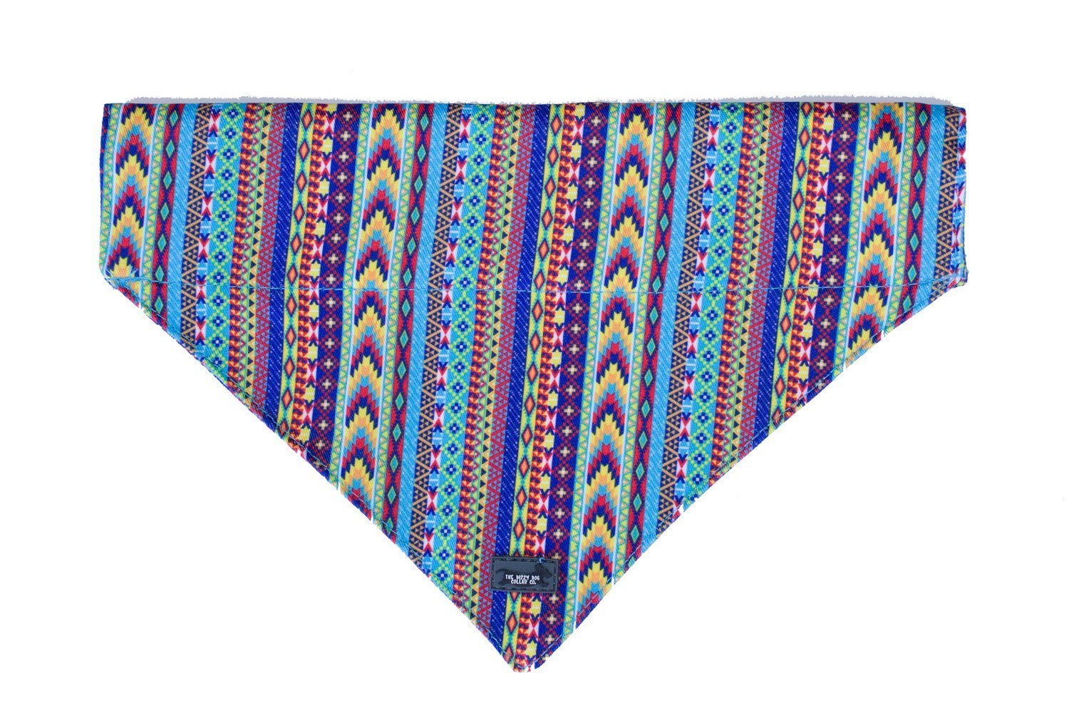Summer Aztec Dog Bandana - Slip on / Over the collar bandana-Dizzy Dog Collars-Dizzy Dog Collars