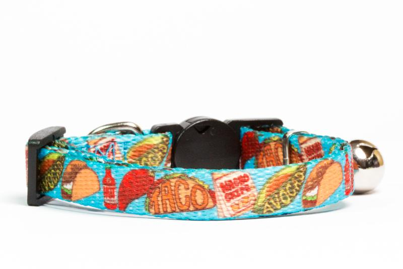 Taco Cat Collar-Dizzy Dog Collars-Dizzy Dog Collars
