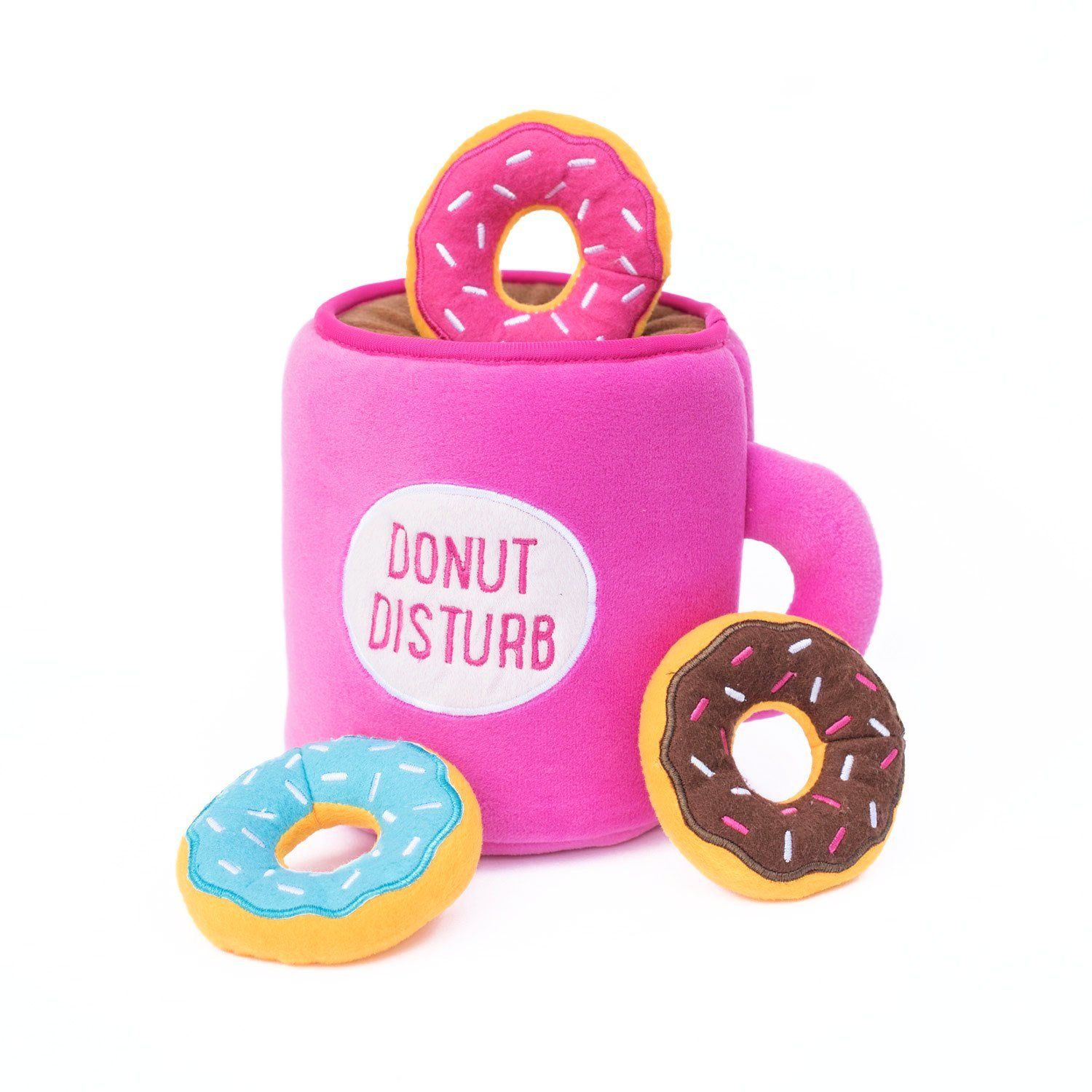 Coffee & Donutz - Interactive Dog Toy-Dizzy Dog Collars-Dizzy Dog Collars