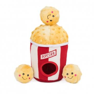Popcorn Bucket- Interactive Dog Toy-Dizzy Dog Collars-Dizzy Dog Collars