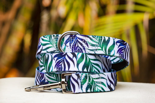 Monstera Leaf Dog Leash