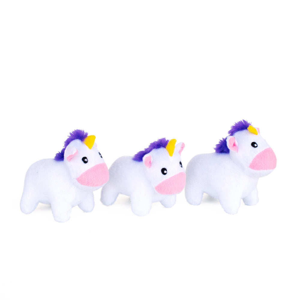 ZIPPY BURROW - Unicorns in Rainbow-Dizzy Dog Collars-Dizzy Dog Collars