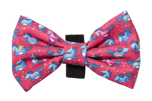 Unicorns Bow Tie - Small & Large