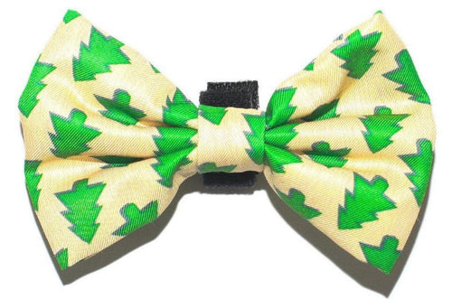 Xmas Trees Bow Tie - Small & Large