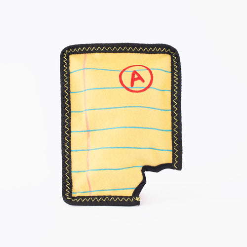 Z-Stitch- Yellow Notepad