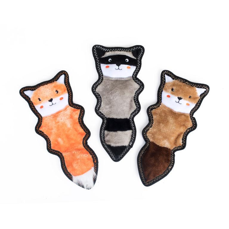 "Zippy Paws Z-Stitch ""Skinny Pelt"" - Fox-Dizzy Dog Collars-Dizzy Dog Collars"