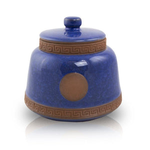 Azure Ceramic Pet Urn - Small - Urn Of Memories