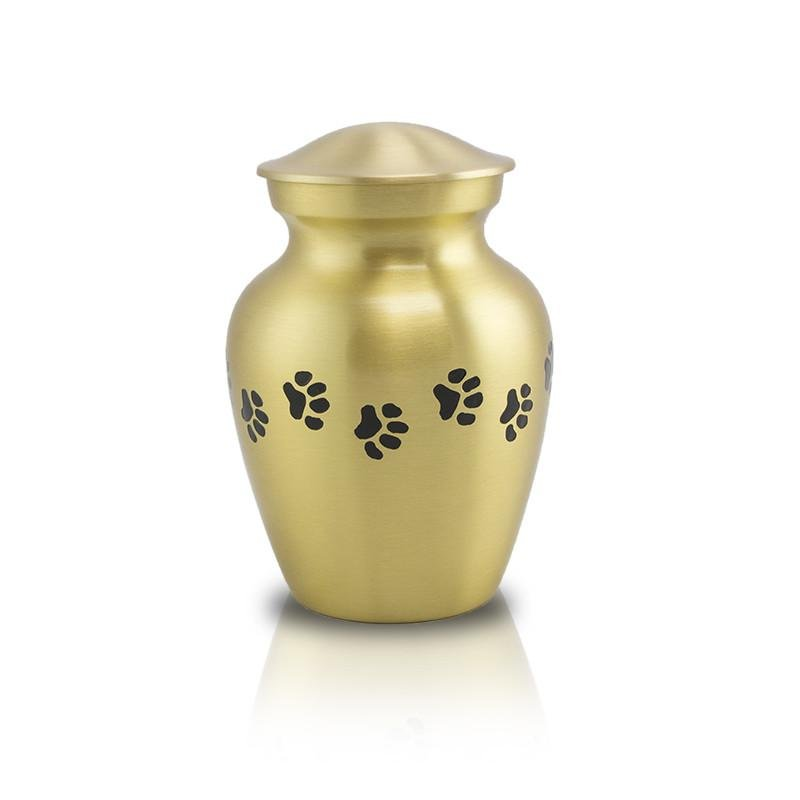 Bronze Paw Cremation Pet Urn - Extra Small - Urn Of Memories