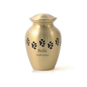 Bronze Paw Pet Cremation Urn - Small - Urn Of Memories