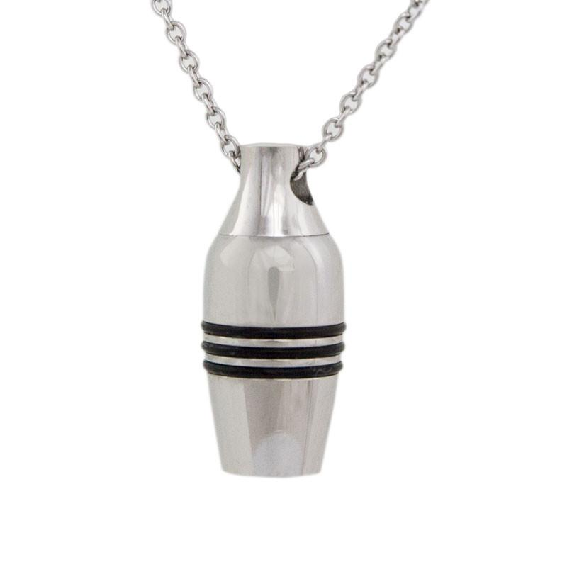 Stainless Steel Cremation Urn Pendant