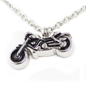 Motorcycle Cremation Necklace - Urn Of Memories