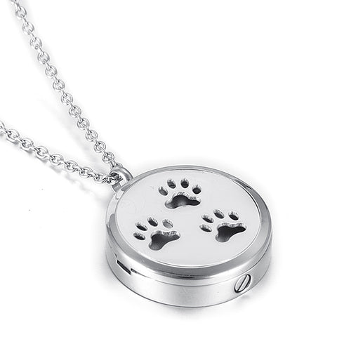 Locket Cremation Jewelry For Pet -  Dog /  Cat - Urn Pendant Necklace - Cremation Jewelry