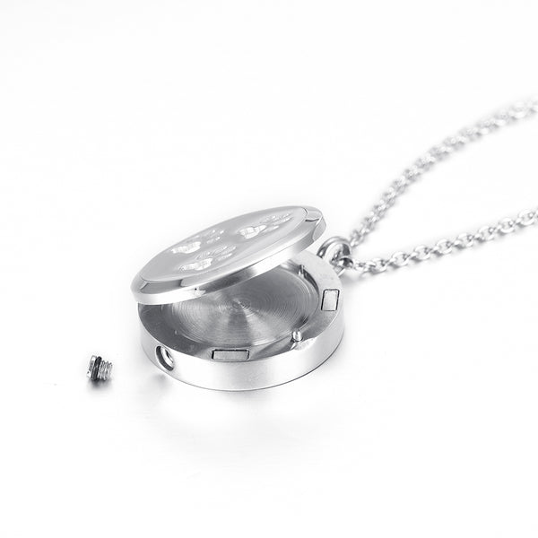 Locket Cremation Jewelry For Pet Horse - Urn Pendant Necklace - Cremation Jewelry