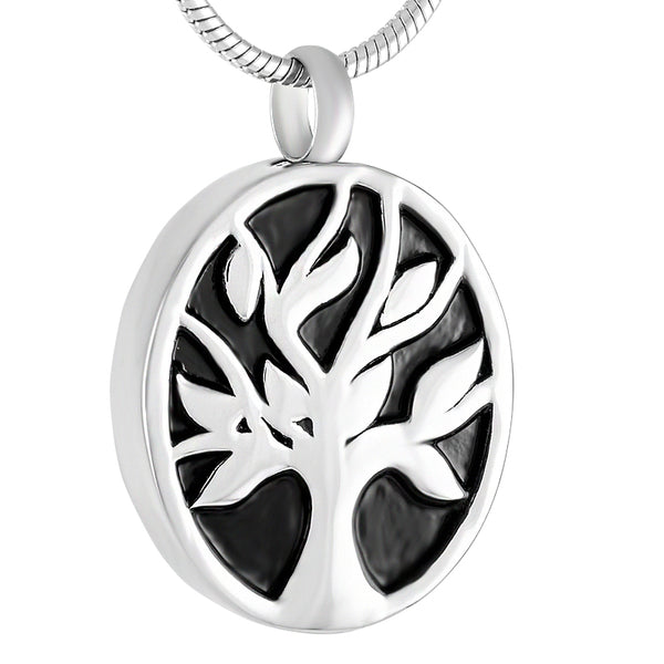 Eternal Tree Urn Pendant for Cremation Ashes - Cremation Jewelry