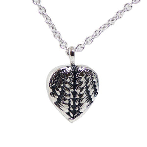 Wrapped in Love Stainless Steel Cremation Necklace - Urn Of Memories