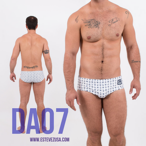 DA07 | ESTEVEZ Designer swimwear for men - Swimsuit, Tank Tops, Shorts | Mens swimwear | Bear | Twink | Gay pride