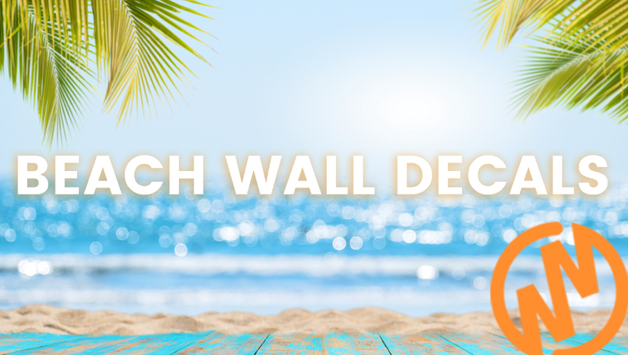 11 Popular Beach Wall Decal Themes