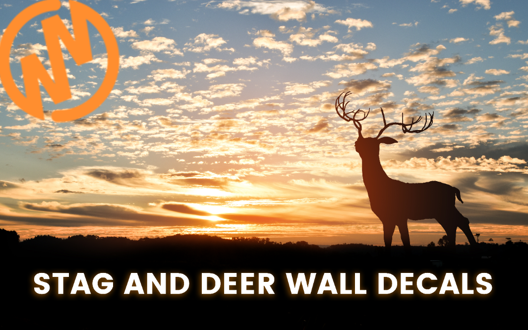 7 Great Ways to Decorate With Stag and Deer Wall Decals